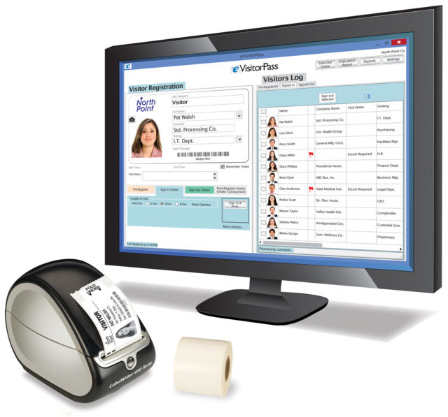 Data Management Inc  Visitor Pass Solutions' eVisitorPass