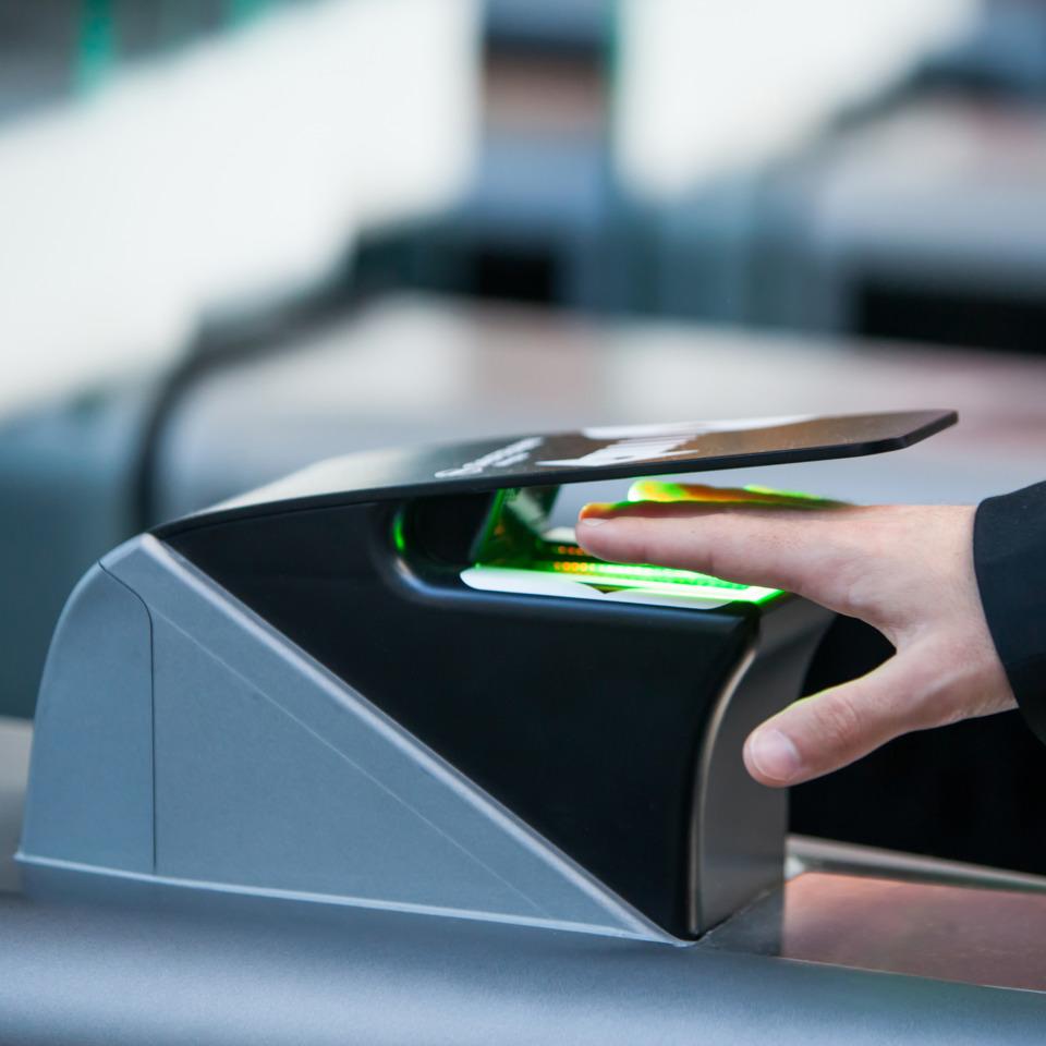 IDEMIA (formerly OT-Morpho) MorphoWAVE Touchless Fingerprint Scanner