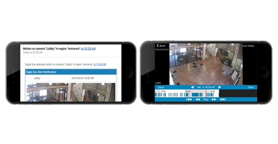 Eagle Eye Networks enhances mobile apps for greater security and