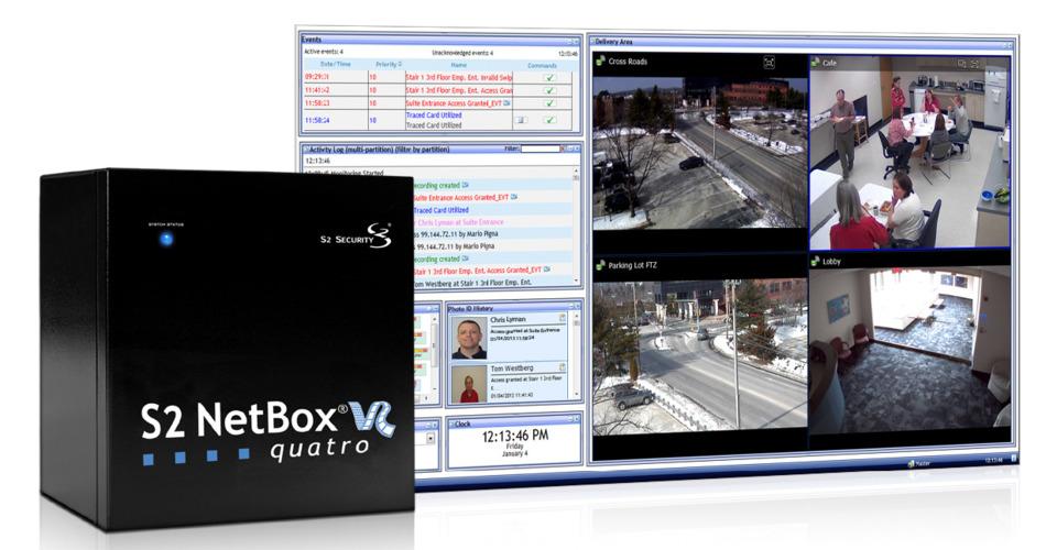 LenelS2 S2 NetBox VR Quatro in Access Control