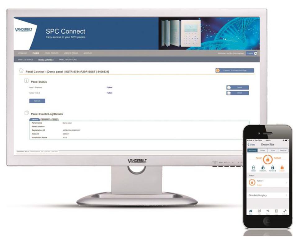Vanderbilt Industries Vanderbilt's SPC Connect in Access Control