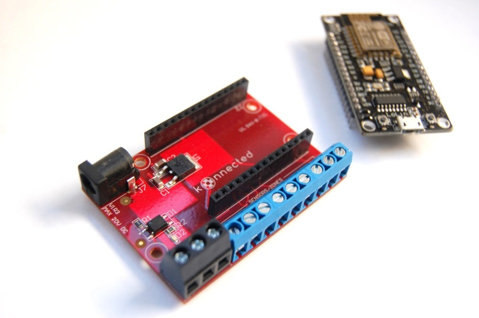 Konnected Alarm Panel turns wired security systems into