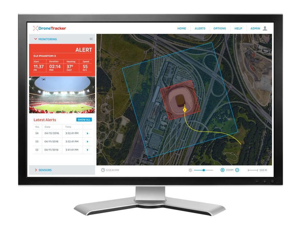 Dedrone Dedrone's DroneTracker 3 Drone Detection Software in Robotics