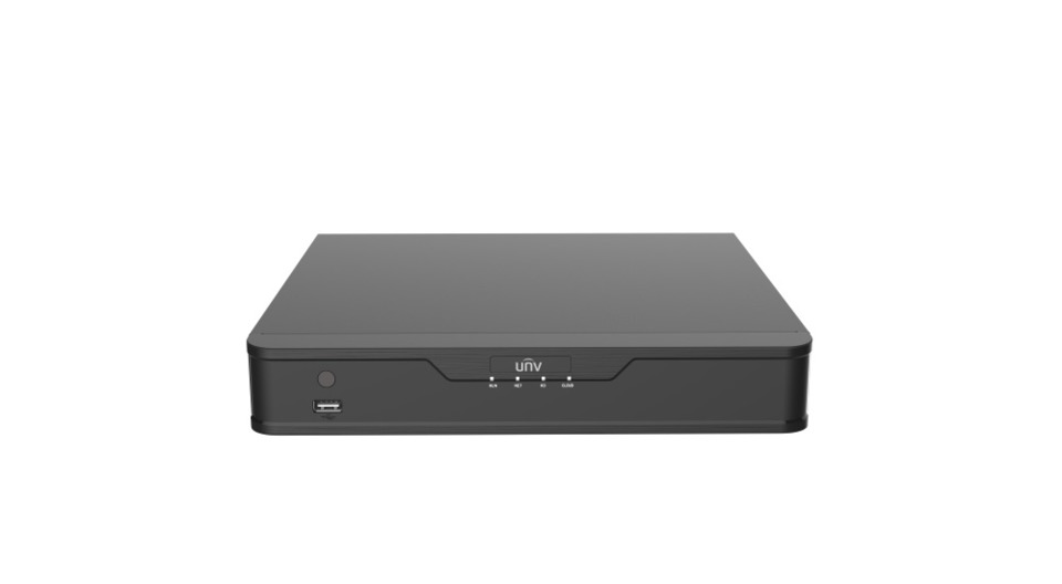 Uniview Uniview's NVR201-04U/NVR201-08Q Hybrid Video