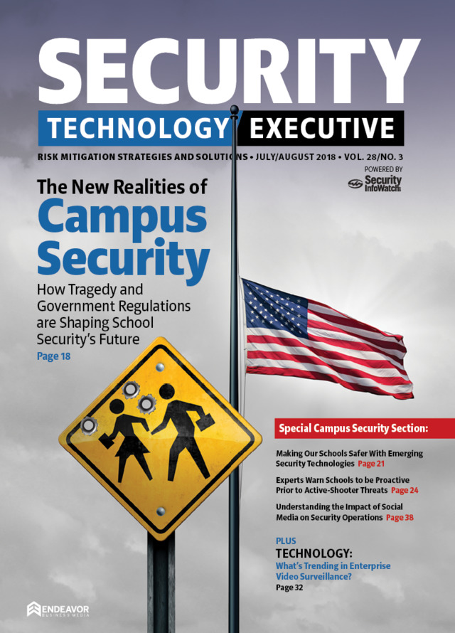 Security Technology Executive July-Aug 2018 | www