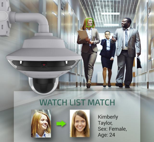 Neurotechnology SentiVeillance includes algorithms for face