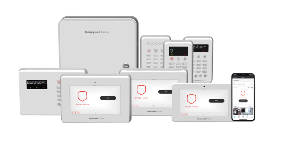 Resideo Honeywell Home ProSeries Security and Smart Home