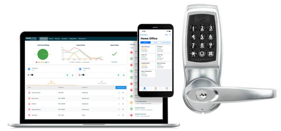 RemoteLock RemoteLock EdgeState SaaS-Based Cloud Solution
