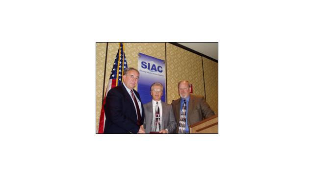 SIAC Honors Washington's Ron Haner with Moody Leadership Award