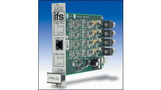 IFS Copperline Product Series Expands with New Four Channel Video Receiver
