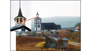 Dual Camera System Offers Fire Detection and Security at Historic Norwegian Site