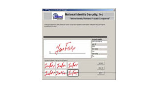 New Biometric Face and Signature Software from National Identity Security