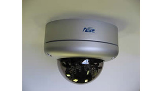 ASE Releases Infrared Vandal-Proof Dome Camera