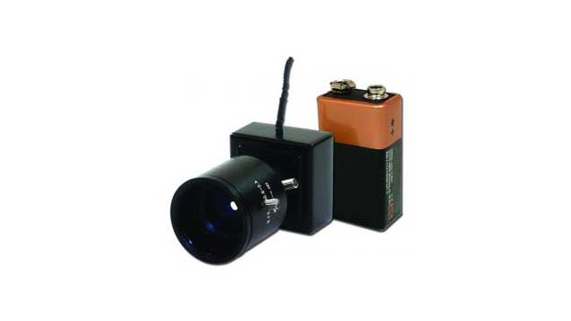 VideoComm Micro-Sized 5.8GHz Wireless Color Camera Kit