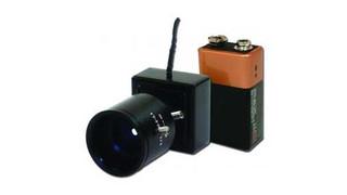 VideoComm Micro-Sized 5.8GHz Wireless Color Camera Kit