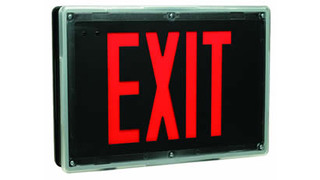 Chloride Introduces Tuff-Act Exit Signage