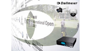 Dallmeier Video Solutions Used at BMW International Open