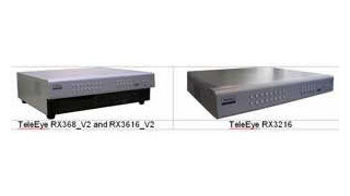TeleEye RX doubles its D1 recording rate