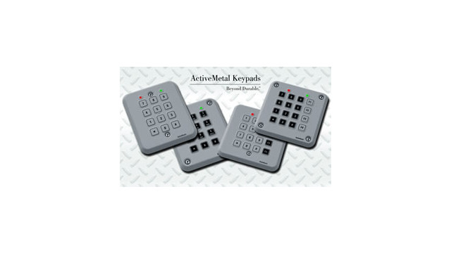 ITW Switches' new rugged access control keypads