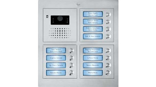 Vandal resistant door entry panel introduced by BPT