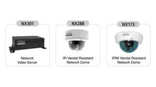 TeleEye introduces new NX series network cams, video server