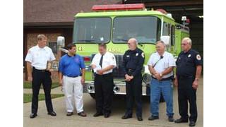 EMERgency24 donates $1K to Indiana volunteer fire department