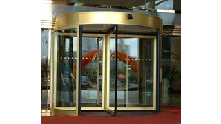 Besam introduces access control revolving door systems