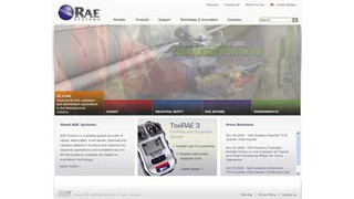 RAE Systems launches new Web site