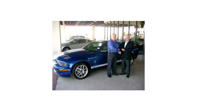 ADI dealer wins Ford Mustang