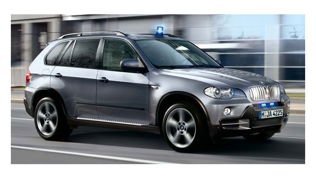 BMW X5 Security Plus SUV withstands AK-47 attacks