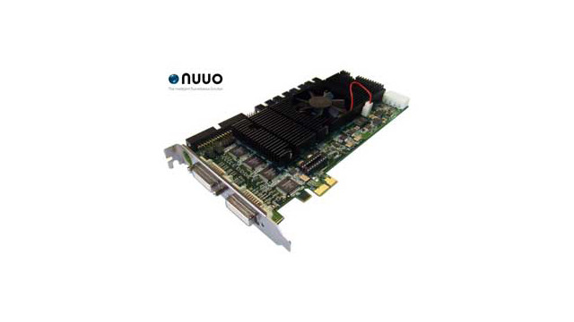 NUUO to launch new DVR card at IFSEC