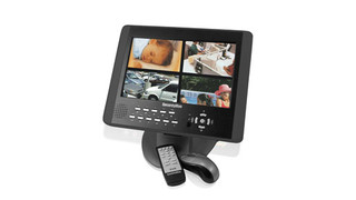 SecurityMan debuts new LCD/DVR combo