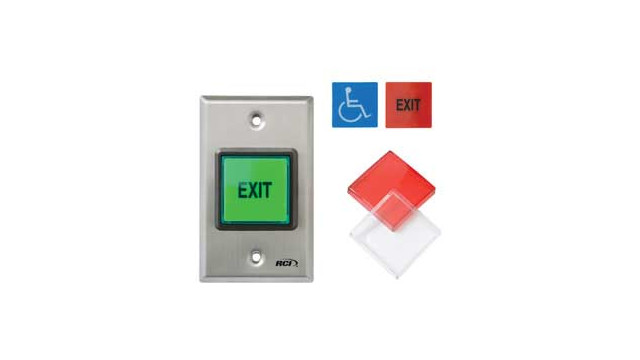 RCI 972 2 Square Pushbutton