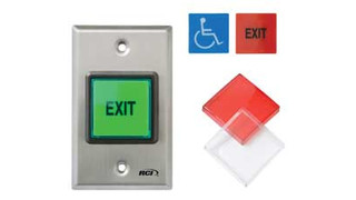 RCI 972 2 Square Pushbutton
