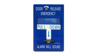 SDC 492 emergency door release pull station