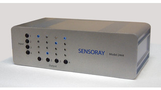 Model 2444, HD SDI matrix routing switcher