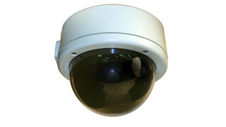 Roughneck impact-resistant camera domes