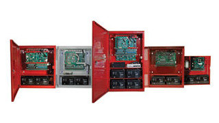 GEM-C  combination burglary/fire system and Firewolf 24V addressable fire system