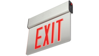 High-Lites debuts edge-lit LED exit signs