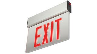High-Lites debuts edge-lit LED exit signs