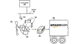 Amazon patents packaging surveillance