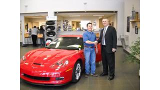 ADI dealer wins new Chevy Corvette