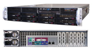 Bay of Plenty IP Recorder 8 Bays of Expansion 2U System