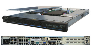 IP Recorder Small 1TB to Xtra Large 4TB - 1U Rack Mount Recorder Just Add Software: Includes Windows Server 2008 OS