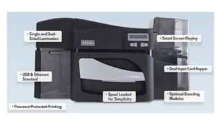 DTC4500 card printer