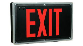 Weathergard Series LED exit signs