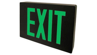 CLED Series cast aluminum LED exit signs