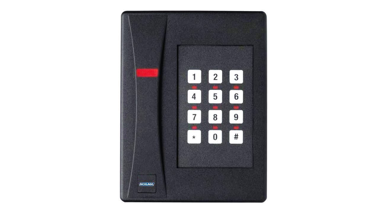 Sxf >> Schlage SXF2110P-K mid-range keypad/proximity card reader