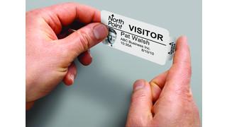 Thermal Expiring Visitor Badge