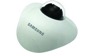 SNV-5010 vandal-resistant flat dome camera